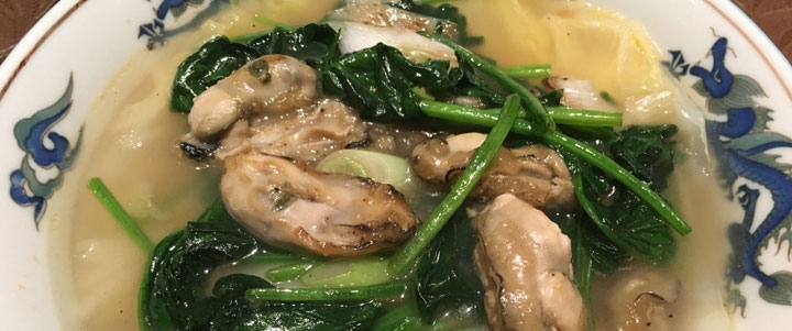 牡蠣のタンメン